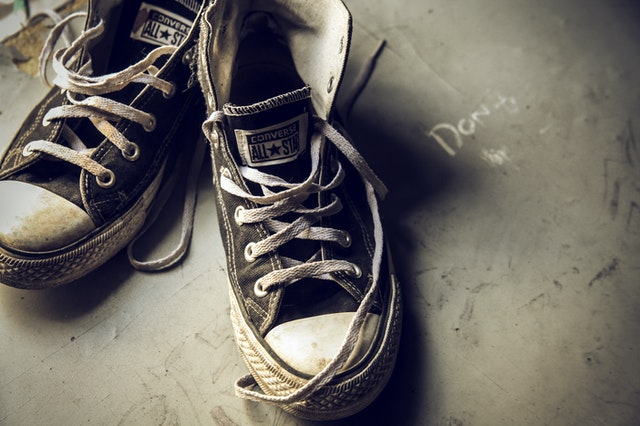 keep dirty footwear out of the house